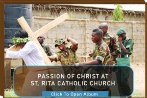 PASSION OF CHRIST AT ST. RITA CATHOLIC CHURCH